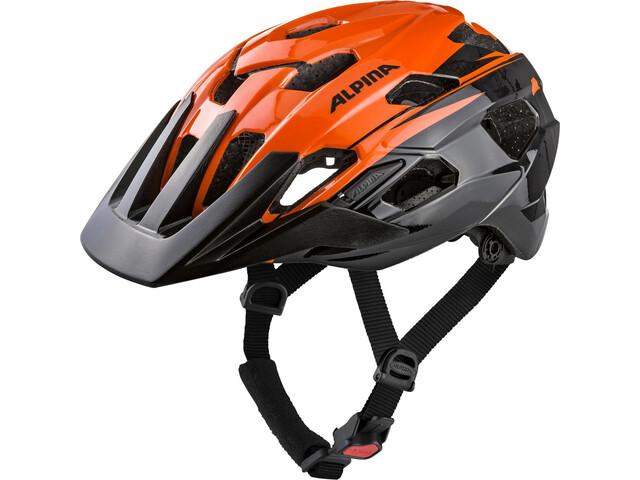 Alpina Anzana Helmet orange-black